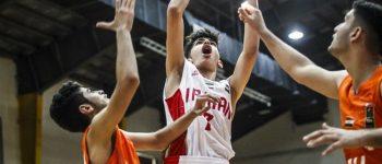 شکست بسکتبالیستهای نوجوان کشور عزیزمان ایران برابر لبنان