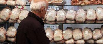 قیمت به ۱۰ هزار و ۶۰۰ تومان رسید ، نوسانات قیمت مرغ در بازار